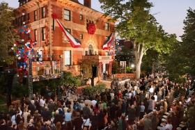 The Church of Scientology celebrated the grand opening of their National Affairs Office in Washington, D.C., on Wednesday, September 12.  More than a thousand Scientologists, guests and dignitaries convened for the dedication of the Office, which permanently extends the full array of Church-sponsored humanitarian programs and initiatives to the national and international communities of the U.S. capital.